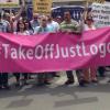 Dusseldorf, Germany – Demonstration